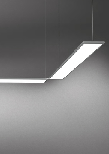 Projectverlichting, modulaire hanglampen, kantoorverlichting. Dit verlichtingssysteem is van het merk Artimide. Diverse vormen te maken. Verlichtingsarmaturen en lampen voor kantoren, schepen, winkels, horeca, musea, etc. Webo adviseert al meer dan 60 jaar architecten, bedrijven en instellingen bij de inrichting van zakelijke ruimtes.