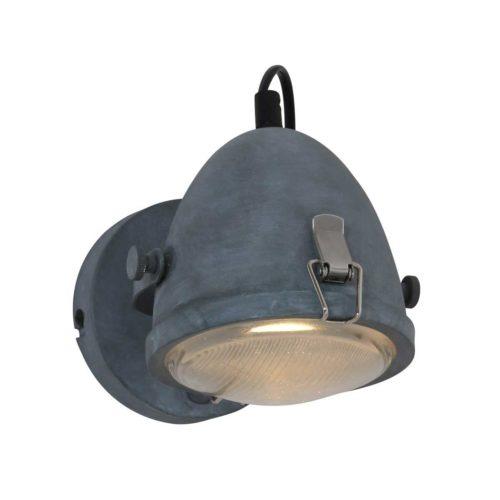 Industriele wandlamp