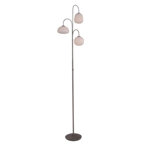 Vloerlamp 3-lichts G9 LED STEINHAUER - 1446ST - Vloerlamp- Steinhauer- Bollique LED- Modern - Landelijk- Staal  - Metaal Glas
