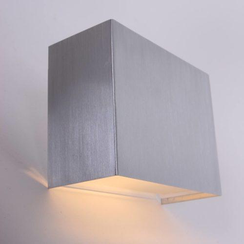 Wandlamp 1-lichts G9 5W LED STEINHAUER - 1461ST - Wandlamp- Steinhauer- Liberstas LED- Modern - Design- Staal  Staal- Metaal