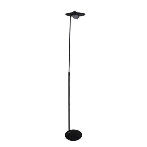 Vloerlamp 1-lichts LED STEINHAUER - 1477ZW - Vloerlamp- Steinhauer- Zenith LED- Design - Modern- Zwart  - Metaal