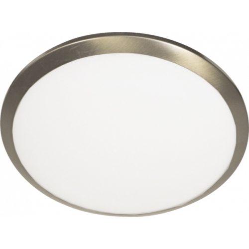 Plafondlamp- plafonnier- GLAS STEINHAUER - 2336BR - Plafondlamp- Steinhauer- Ceiling and wall- Modern - Minimalistisch design- Brons Wit - Metaal Glas