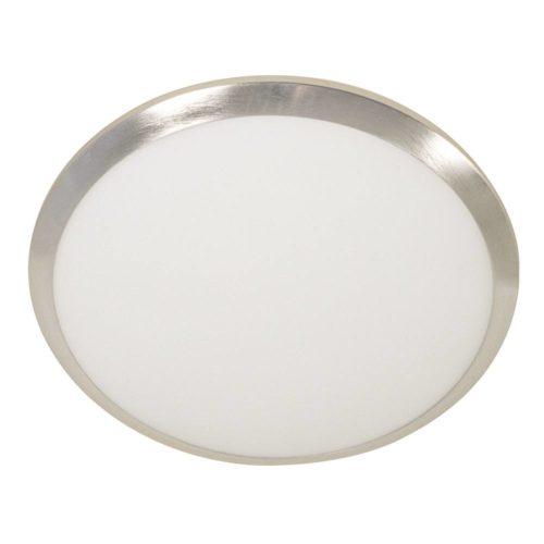 Plafondlamp- plafonnier- GLAS STEINHAUER - 2337ST - Plafondlamp- Steinhauer- Ceiling and wall- Modern - Minimalistisch design- Staal Wit - Metaal Glas