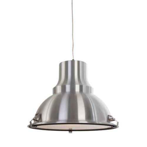 Industriele hanglamp 1-lichts Metaal STEINHAUER - 5798ST - Industrie lamp - Industrie Hanglamp - Steinhauer - Parade - Industrieel - Modern- Staal  - Metaal Glas