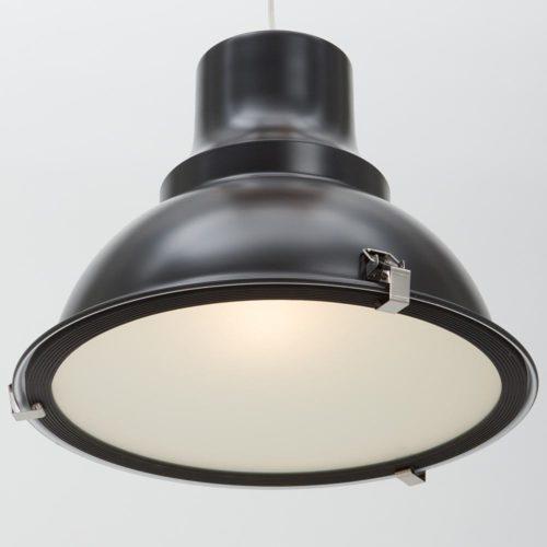 Industriele hanglamp 1-lichts Metaal STEINHAUER - 5798ZW - Industrie lamp - Industrie Hanglamp - Steinhauer - Parade - Industrieel - Modern- Zwart  - Metaal Glas