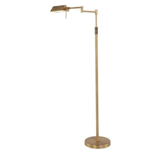 Vloerlamp 1-lichts Dakkap MEXLITE - 5895BR - Vloerlamp- Mexlite- Mexlite- Klassiek- Brons  - Metaal