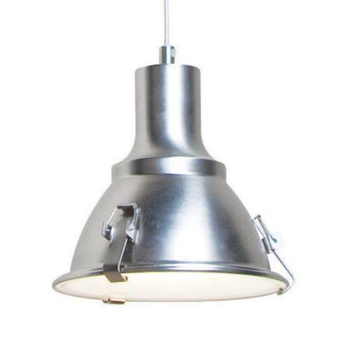 Industriele hanglamp 1-lichts Reflector STEINHAUER - 6523ST - Industrie lamp - Industrie Hanglamp- Steinhauer- Parade- Industrieel - Modern- Staal  - Metaal