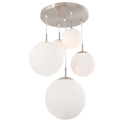 Plafondlamp - Hanglamp met vijf bollen