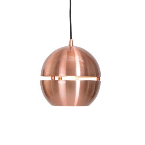 Hanglamp 1-lichts Bol D280 Alu STEINHAUER - 7535KO - Hanglamp- Steinhauer- Solar- Modern - Retro- Koper  - Metaal