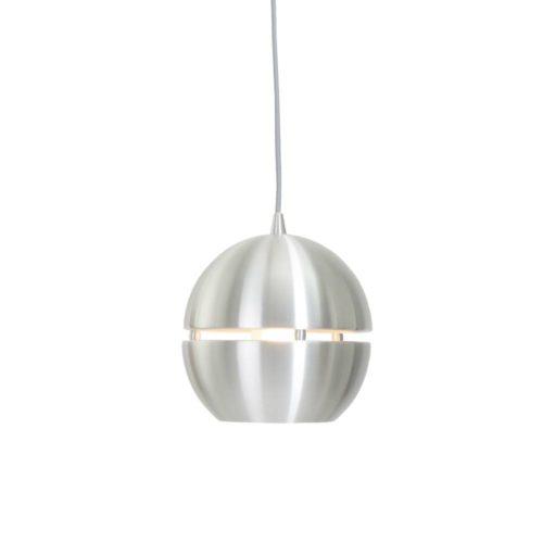 Hanglamp 1-lichts Bol D280 Alu STEINHAUER - 7535ST - Hanglamp- Steinhauer- Solar- Modern - Retro- Staal  - Metaal
