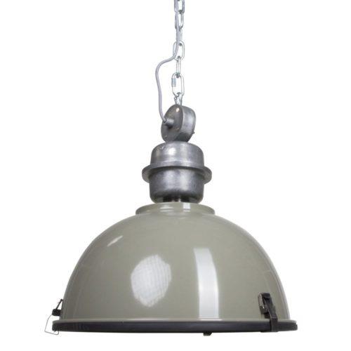 Industriele hanglamp 1-lichts Industrial STEINHAUER - 7586G - Industrie lamp - Industrie Hanglamp - Steinhauer - Bikkel - Industrieel - Trendy - Groen - Metaal Glas