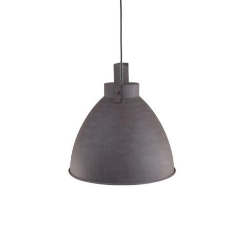 Industriele hanglamp 1-lichts Metaal MEXLITE - 7651B - Industriële hanglamp - Industrielamp - Mexlite - Austin - Landelijk - Industrieel - Bruin Verweerd bruin - Metaal