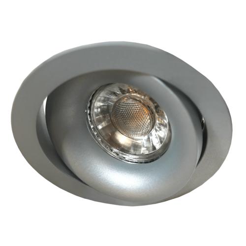 Inbouwspot DL grijs rond ins.moveable GU10 35W IP20