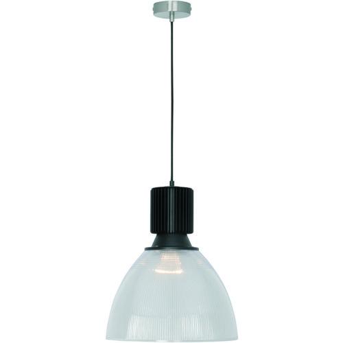Hanglamp 'Apollo' Transparant/Zwart FREELIGHT - H 3020 Z