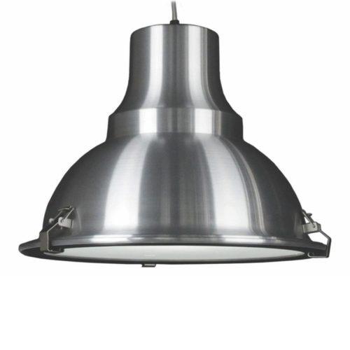 "Industriële hanglamp alu 1-lichts ""Vega"" Ø45cm Retro - Industrieel E27"