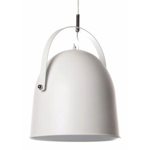 "Industriële hanglamp wit 1-lichts ""Cooper"" Ø35cm 34cm hoog E27"