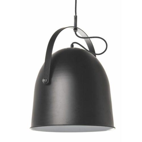 "Industriële hanglamp  zwart 1-lichts ""Cooper"" Ø35cm 34cm hoog E27"