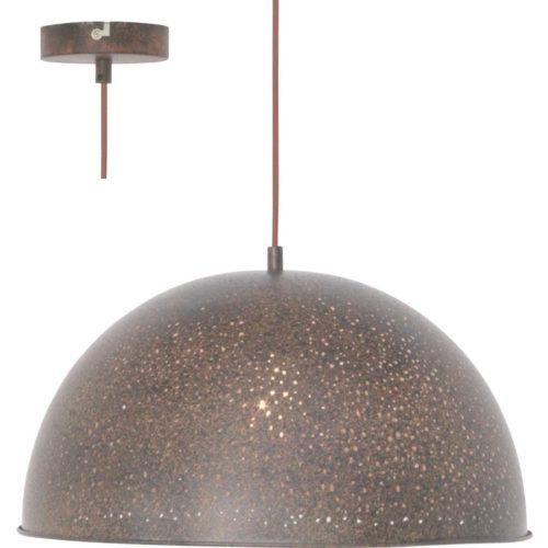 Hanglamp Misty Bruin Roest sterrenhemel 50 cm FREELIGHT H3511R