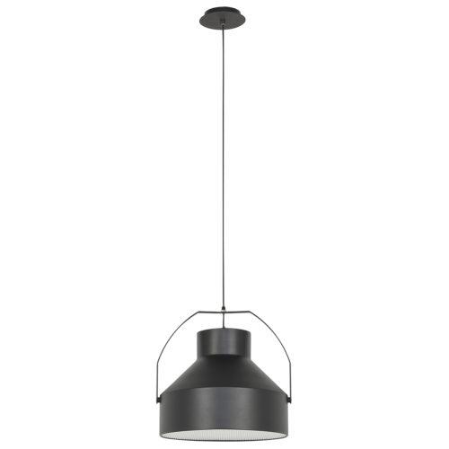 Industriele hanglamp Micro E27 Zwart
