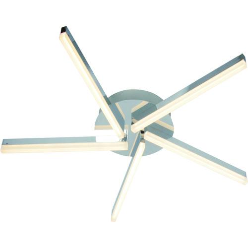 Plafondlamp 5-lichts 'Sopra' 15W LED Chroom FREELIGHT - PL 1346 CH
