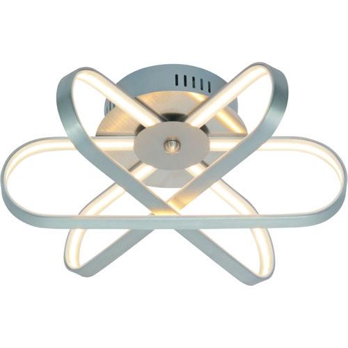 Plafondlamp 'Pista' 40W LED Staal FREELIGHT - PL 1352 S