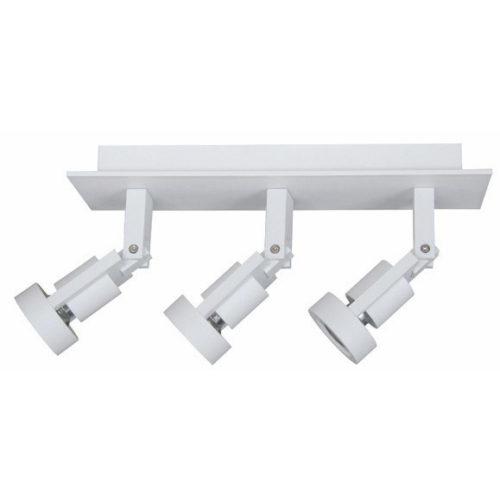 Technische plafondlamp met drie verstelbare spots