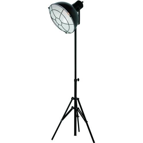 Industriële vloerlamp 'Vicenza' Zwart FREELIGHT - S 2450 Z