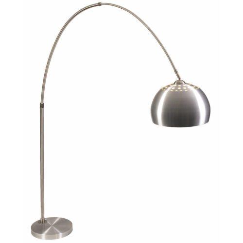 "Vloerlamp staal 1-lichts ""Bobi"" boog 250cm hoogte"