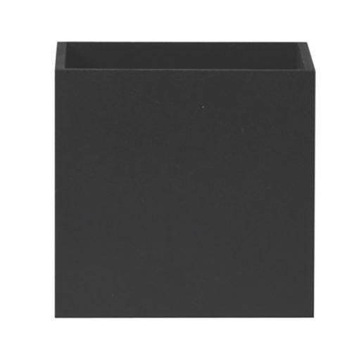 """Wandlamp zwart 1-lichts """"Cubuz"""" 12x12x12cm excl G9 (11108-02)"""