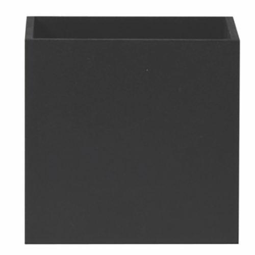 """Wandlamp zwart 1-lichts """"Cubuz"""" 10x10x10cm excl G9 (11109-02)"""
