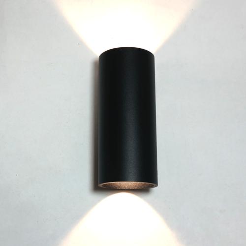 "Wandlamp zwart ""Brody2"" up/down light"