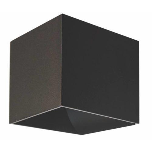 "Wandlamp zwart 1-lichts ""Gymm"" kubus 10x10x10cm excl G9"