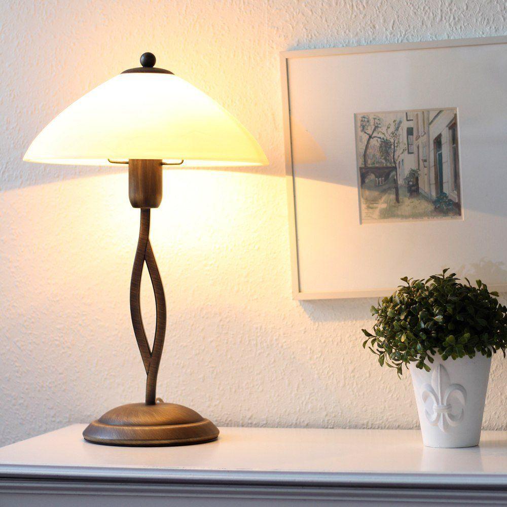 Sfeervolle tafellamp van Steinhauer, bij Webo Verlichting in Beuningen bij Nijmegen.