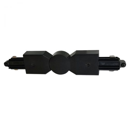 Hoekstuk rail flexibel voor mat zwarte spanningrail. Dit hoekstuk rail flexibel maakt onderdeel uit van de moderne railverlichting RSWebo-1 van High Light. Dit moderne 1 fase railsysteem van Highlight  kunt u geheel zelf samenstellen. Het systeem RSWebo-1 beschikt over verschillende lengtes spanningrail