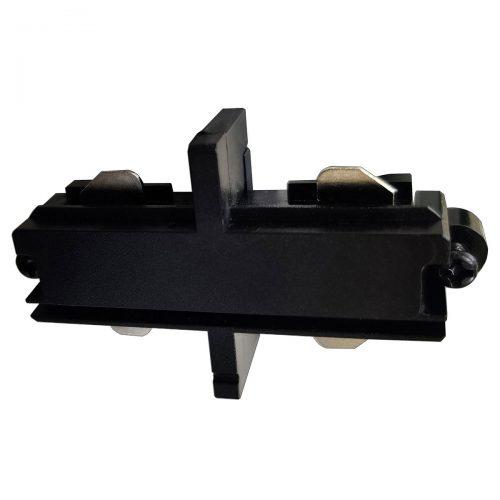 Intern koppelstuk voor mat zwarte spanningrail. Dit aansluitstuk maakt onderdeel uit van de moderne railverlichting RSWebo-1 van High Light. Dit moderne 1 fase railsysteem van Highlight  kunt u geheel zelf samenstellen. Het systeem RSWebo-1 beschikt over verschillende lengtes spanningrail