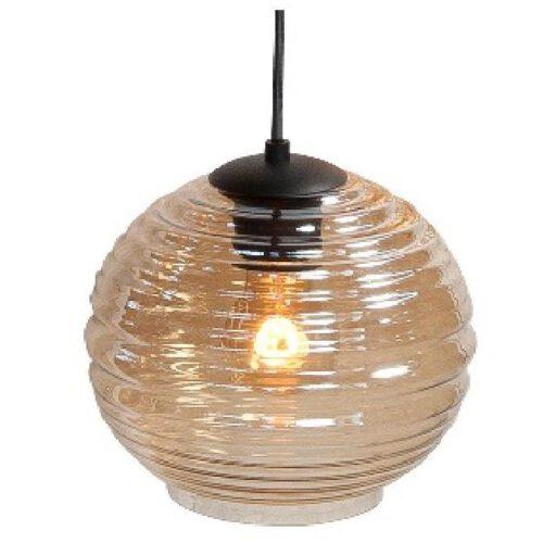 Glas Fantasy Globe Amber 20 cm