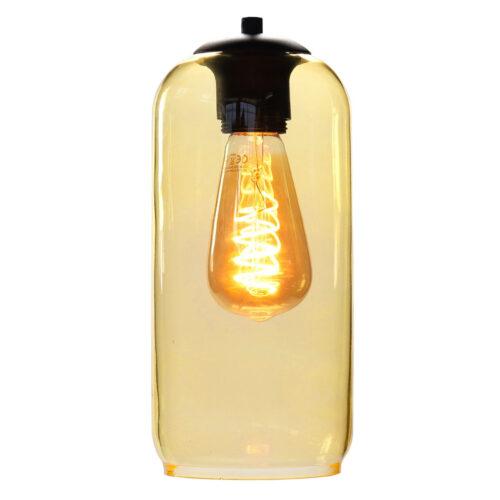 Glas Fantasy Bell. Los glas licht geel