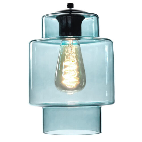 Glas Fantasy Moderno. Los glas licht blauw. Dit glas is geschikt voor een E27 fitting. In de glas serie van HIGH LIGHT bevinden zich diverse vormen van dit licht roze glas. Qua tinten heeft u de keuze per variant uit Smoke (transparant zwart)