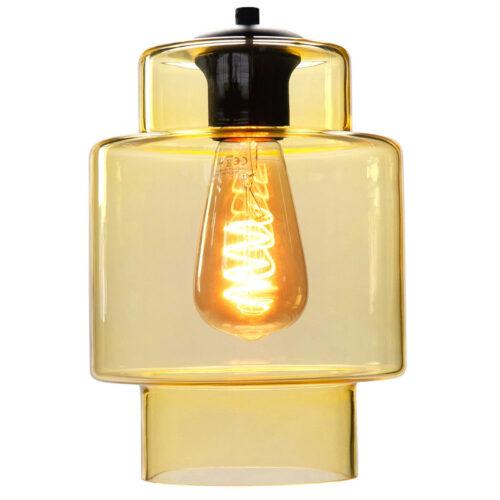 Glas Fantasy Moderno. Los glas licht geel. Dit glas is geschikt voor een E27 fitting. In de glas serie van HIGH LIGHT bevinden zich diverse vormen van dit licht roze glas. Qua tinten heeft u de keuze per variant uit Smoke (transparant zwart)