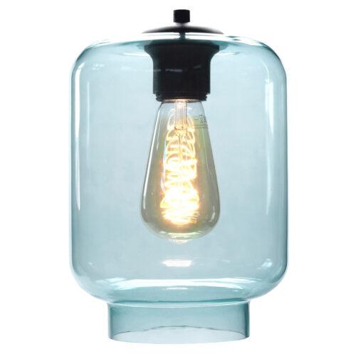Glas Fantasy Vaso. Los glas licht blauw. Dit glas is geschikt voor een E27 fitting. In de glas serie van HIGH LIGHT bevinden zich diverse vormen van dit licht roze glas. Qua tinten heeft u de keuze per variant uit Smoke (transparant zwart)