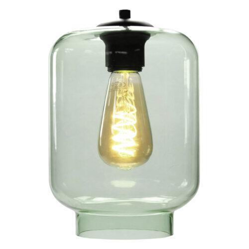 Glas Fantasy Vaso. Los glas licht groen. Dit glas is geschikt voor een E27 fitting. In de glas serie van HIGH LIGHT bevinden zich diverse vormen van dit licht roze glas. Qua tinten heeft u de keuze per variant uit Smoke (transparant zwart)