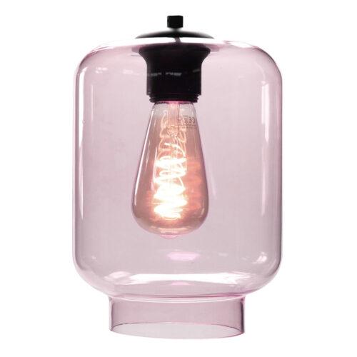 Glas Fantasy Vaso. Los glas licht roze. Dit glas is geschikt voor een E27 fitting. In de glas serie van HIGH LIGHT bevinden zich diverse vormen van dit licht roze glas. Qua tinten heeft u de keuze per variant uit Smoke (transparant zwart)
