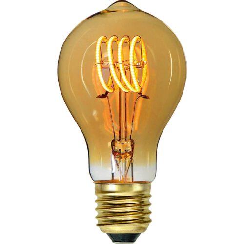 Standaard lamp LED Spiral 4W Amber Dimbaar E 27