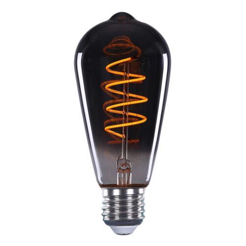Edison St.64 LED  4W Filament Smoke dimbaar E27