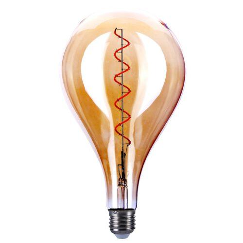 Maxi - stand lamp A160 LED 4W Spiral Amber dimb.E27