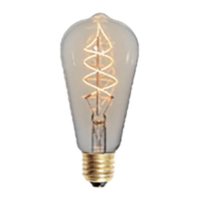 LED spiraal 6W 3-step dimbaar lamp Edison