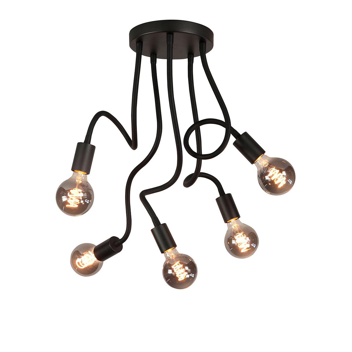 Plafondlamp Flex 5-lichts