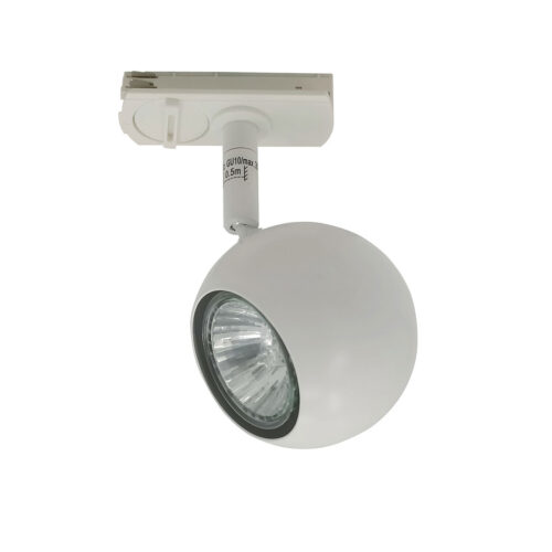 Retro bol spot inclusief adapter voor railverlichting RSWebo-1