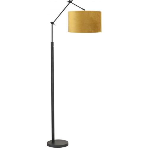 Vloerlamp Magna mat zwart van High Light