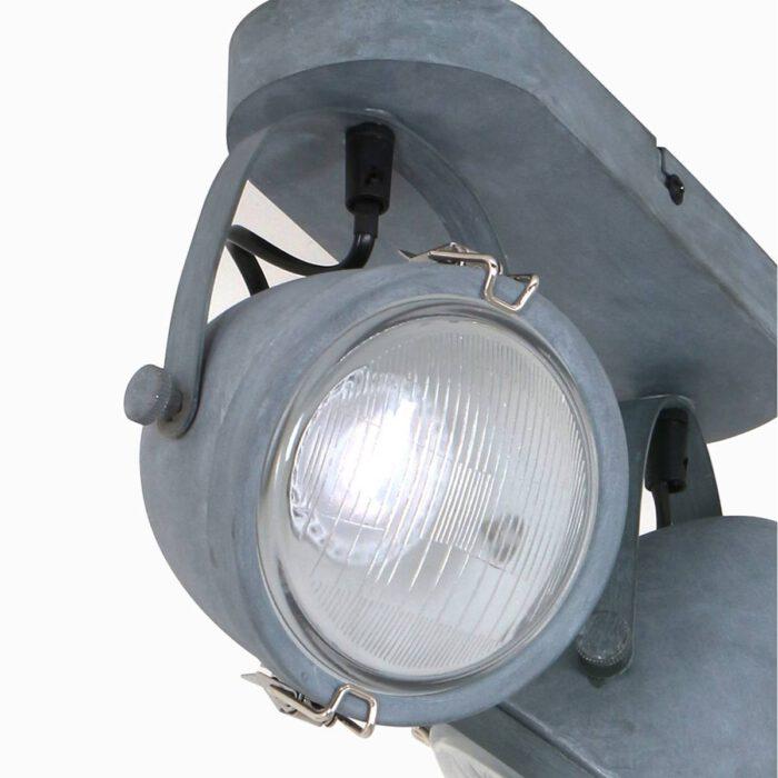 MEXLITE - 1312GR - industrielamp - industriële plafondlamp - plafondspots - plafondlamp - landelijk - industrieel - Mexlite